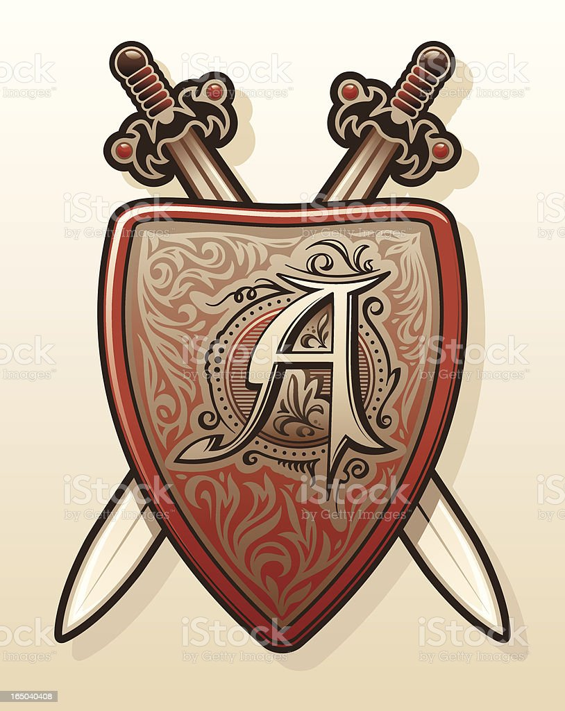 Shield Series royalty-free stock vector art