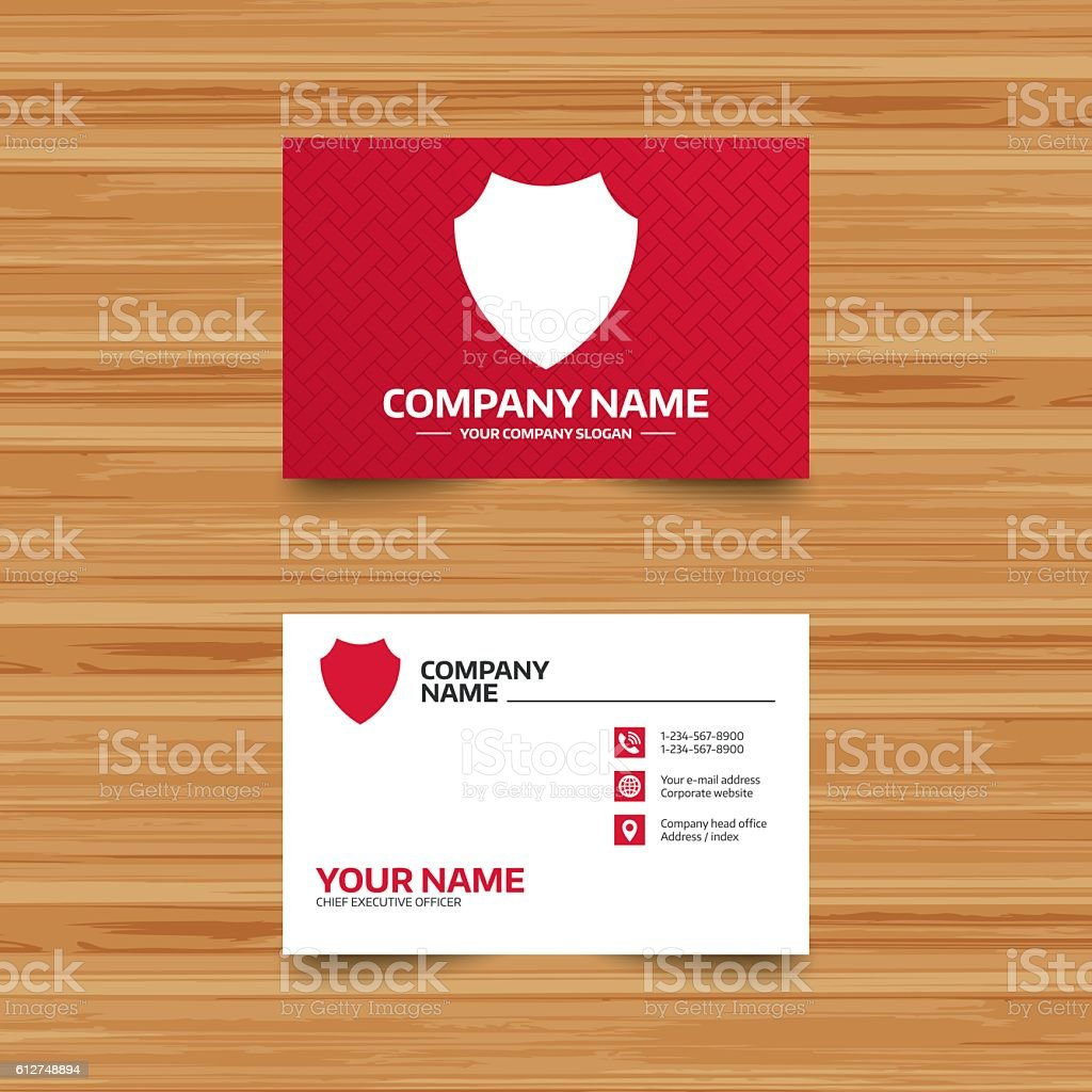 Shield Sign Icon Protection Symbol Stock Vector Art & More Images of