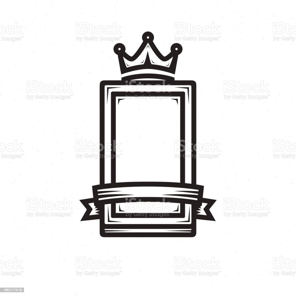 Shield template for the  logo royalty-free shield template for the logo stock vector art & more images of antique
