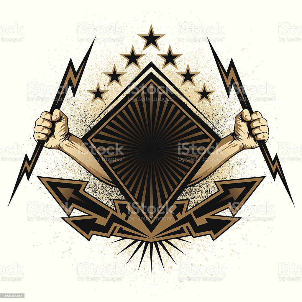 Shield royalty-free shield stock vector art & more images of arrow symbol