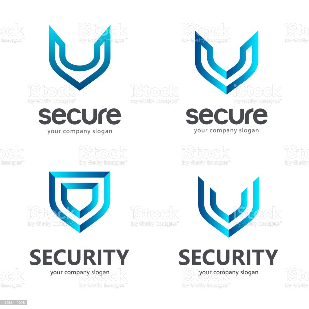 Shield. Vector sign template. Symbol of security. vector art illustration
