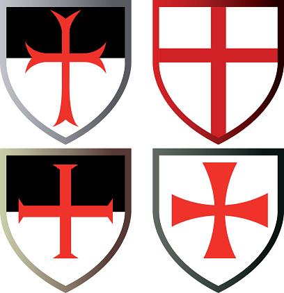 Shields of Templar Knights