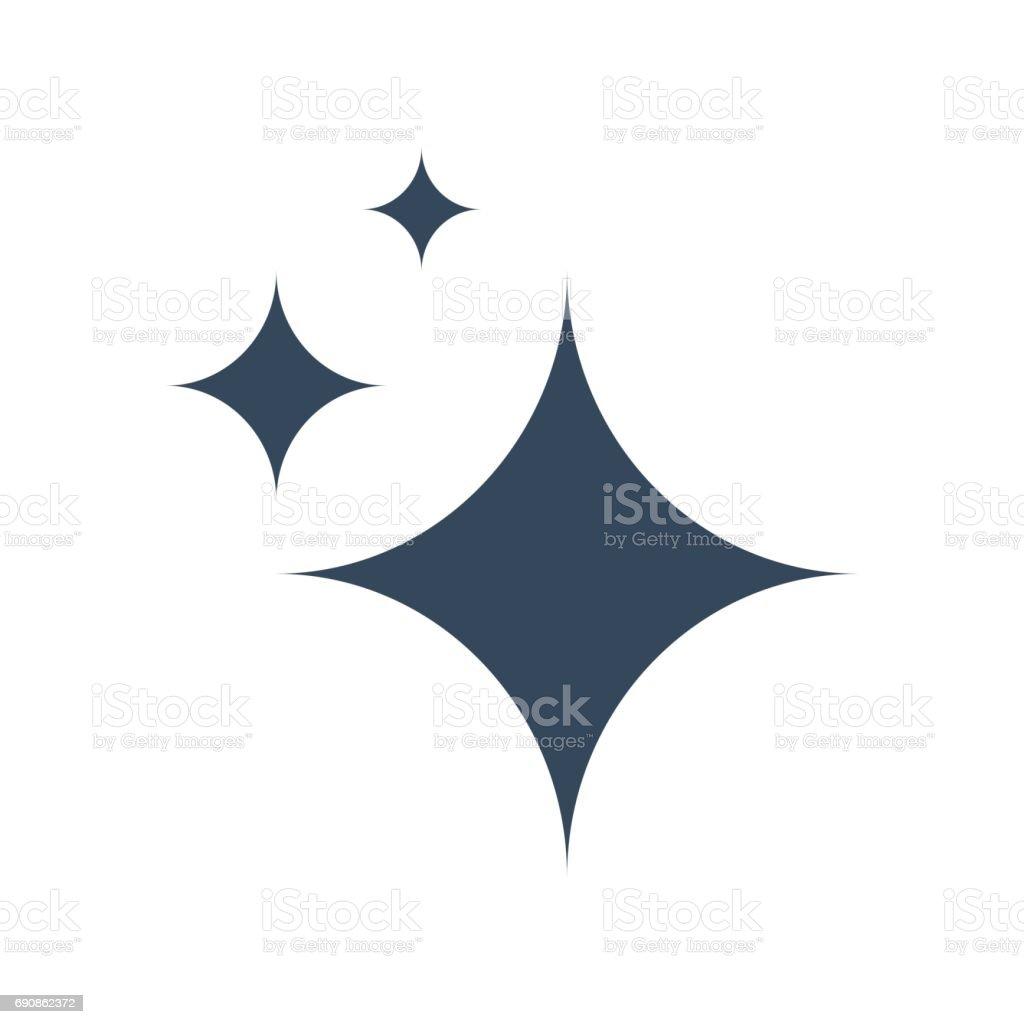 Icono de vector de brillo - ilustración de arte vectorial