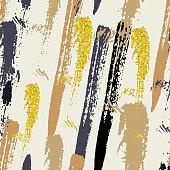Shining background with brush strokes
