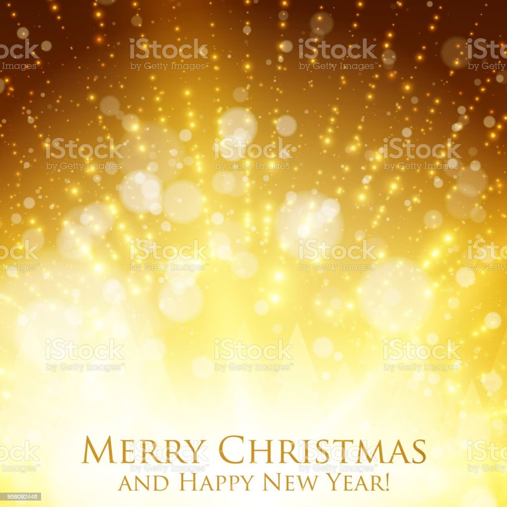 shining christmas colorful background with backlight and glowing particles abstract vector happy new year backdrop