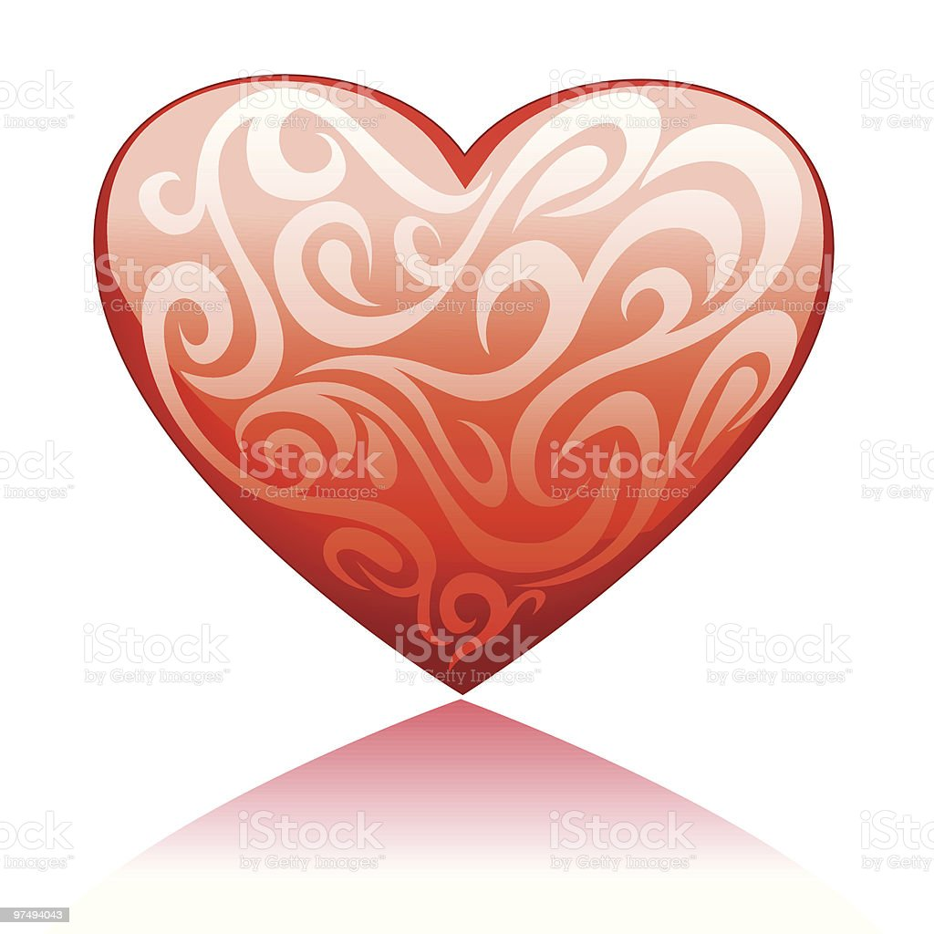 Shining Heart 2 royalty-free shining heart 2 stock vector art & more images of color image