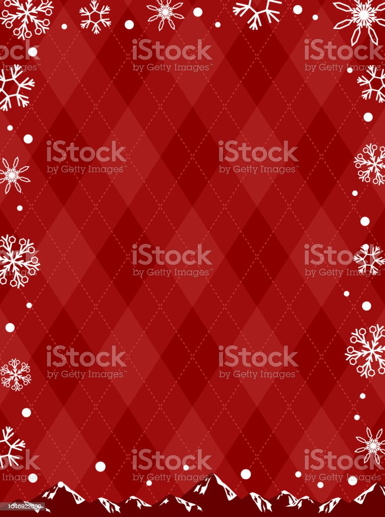 輝く雪の結晶の背景 ベクターアートイラスト