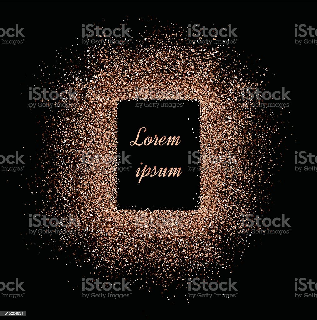 Shiny background. Shiny pearl background for card. Powder with sparkles. vector art illustration