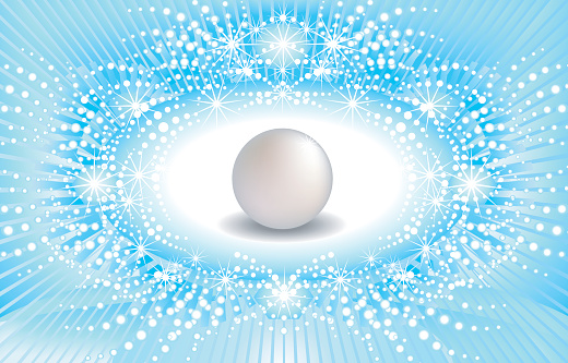 shiny background with a seapearl.