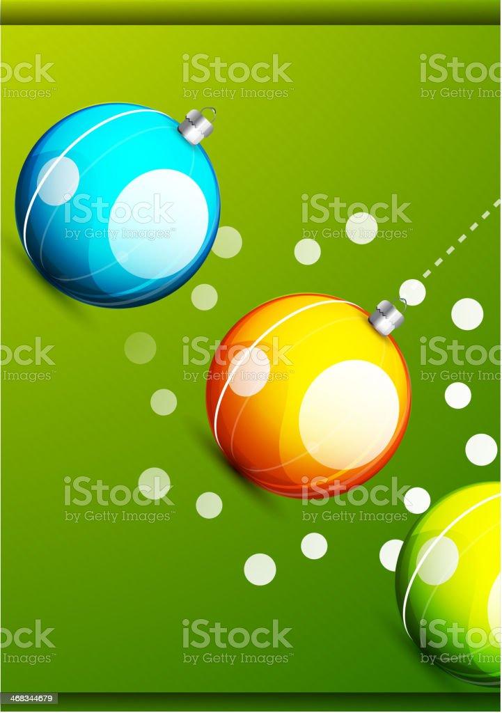 Shiny christmas balls royalty-free shiny christmas balls stock vector art & more images of backgrounds