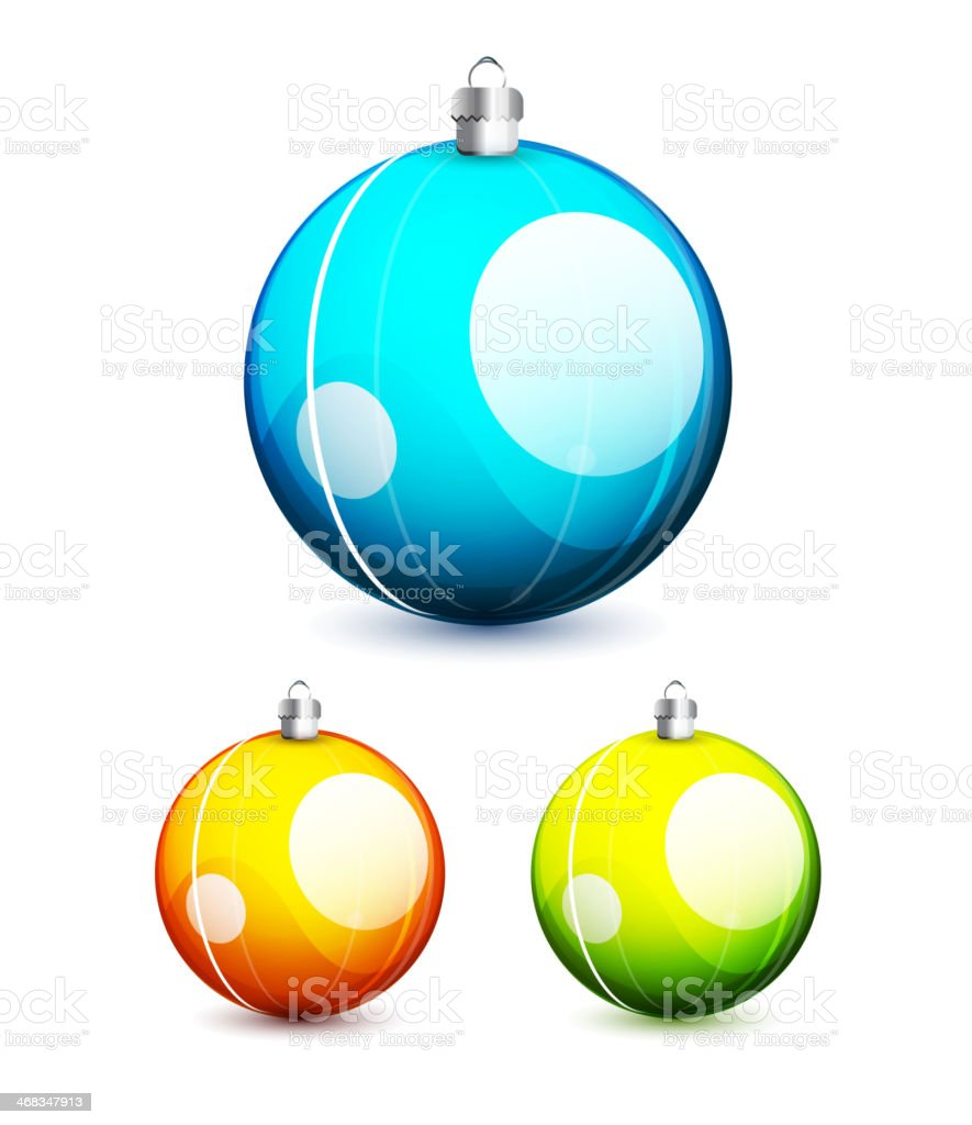 Shiny christmas balls royalty-free shiny christmas balls stock vector art & more images of backgrounds