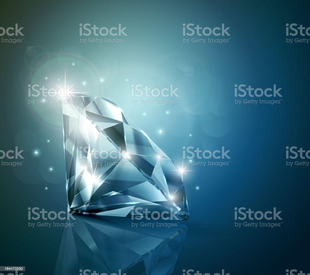 Shiny diamond background royalty-free shiny diamond background stock vector art & more images of backgrounds