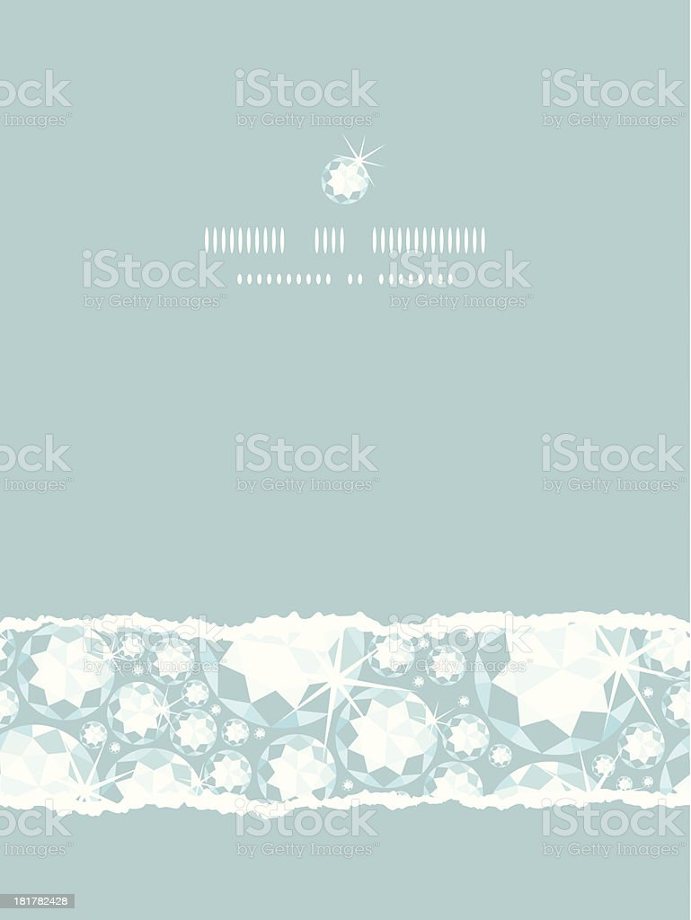 Shiny diamonds vertical torn frame seamless pattern background royalty-free shiny diamonds vertical torn frame seamless pattern background stock vector art & more images of abstract