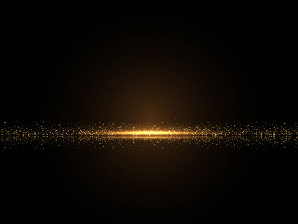 shiny glowing luxury backround - gold stock illustrations