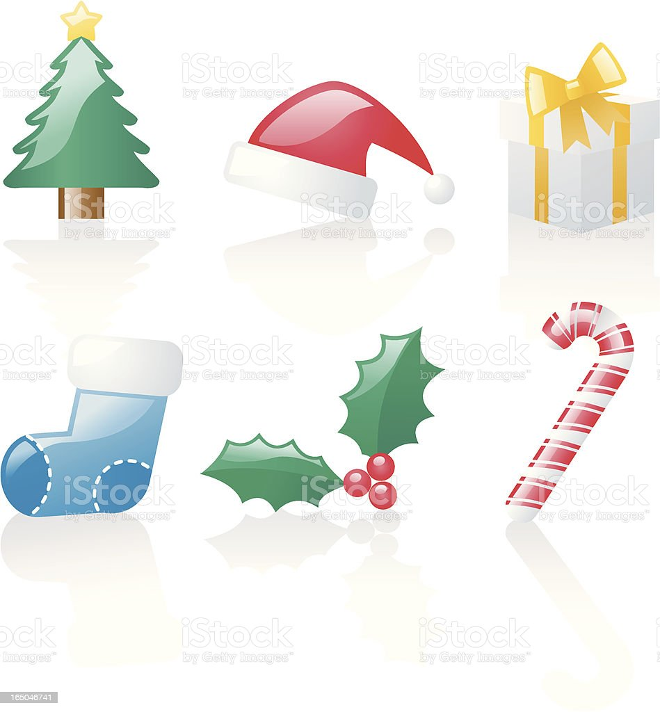 shiny icons: christmas royalty-free shiny icons christmas stock vector art & more images of berry