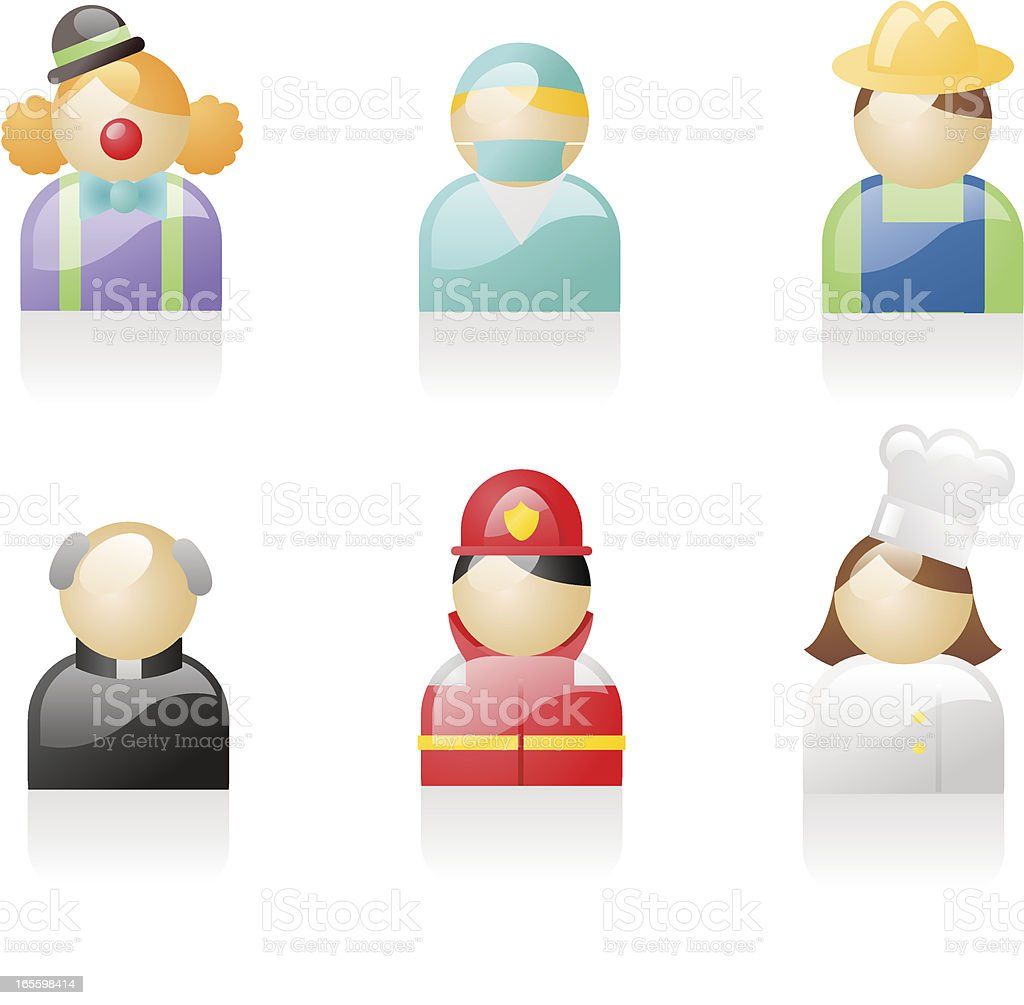 shiny icons: occupations 2 royalty-free shiny icons occupations 2 stock vector art & more images of adult