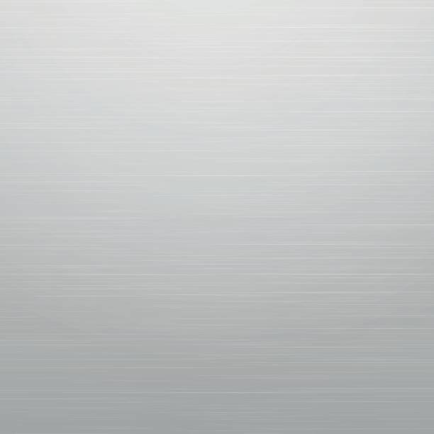 Shiny metal surface Abstract light grey background, similar to metal brushed metal stock illustrations