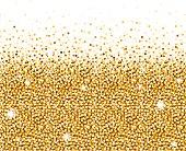 Shiny Metallic Gold Glitter Background
