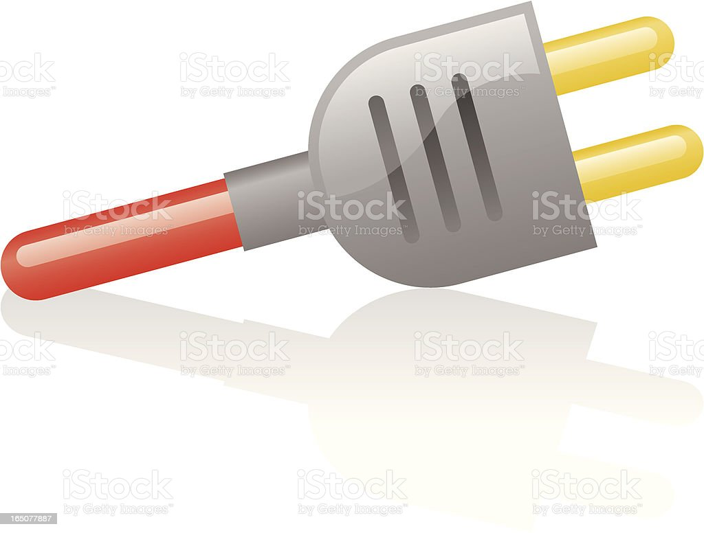 shiny plug royalty-free shiny plug stock vector art & more images of cable