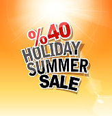 drawn of vector summer holiday label. This file of transparent and created by illustrator CS6.