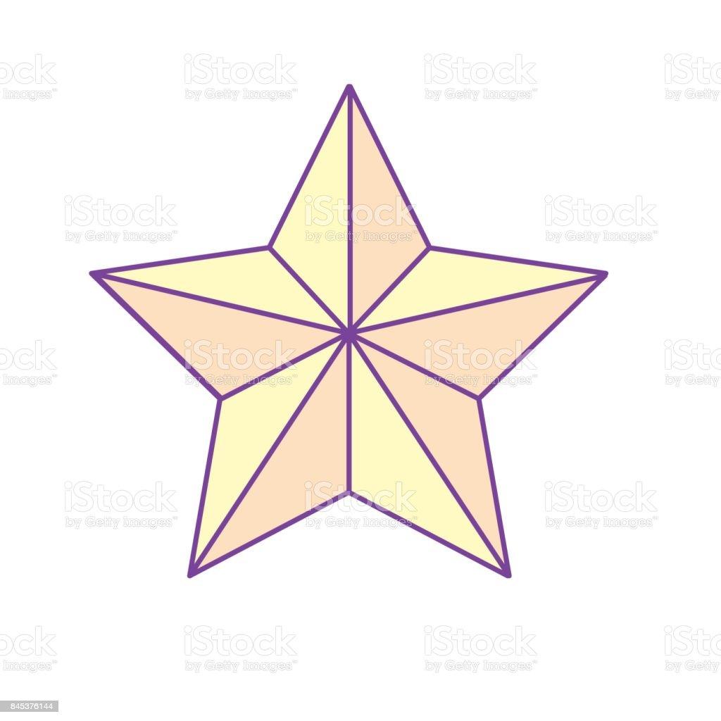 Stern Frohe Weihnachten.Glanzenden Stern Und Frohe Weihnachtensymbol Stock Vektor Art Und Mehr Bilder Von Baum