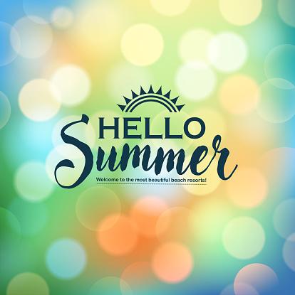 shiny summer message