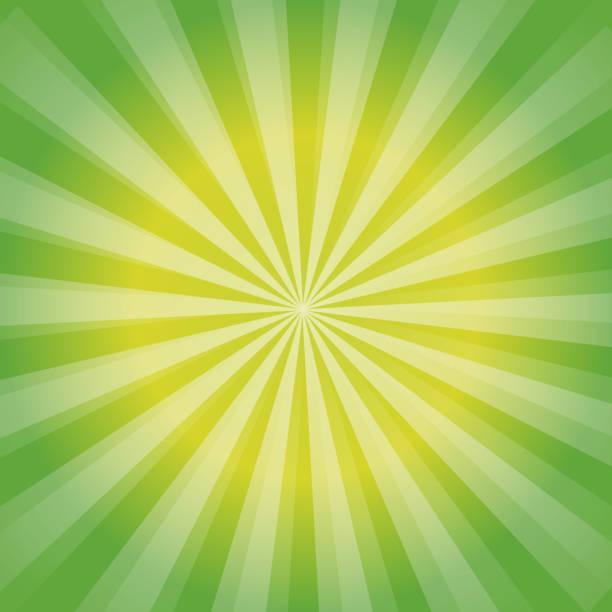 3c391724643 Shiny Sun Ray Background Sun Sunburst Pattern Green Rays Summer ...