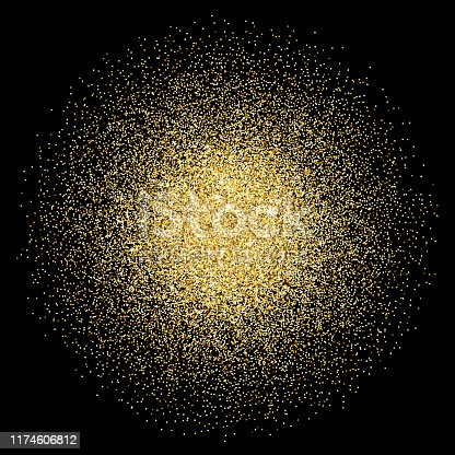 Shiny vector glitter background