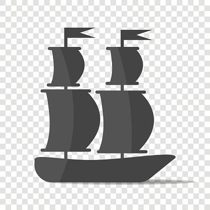 Schip Boot Varen Schip Stockvectorkunst en meer beelden van Autoriteit