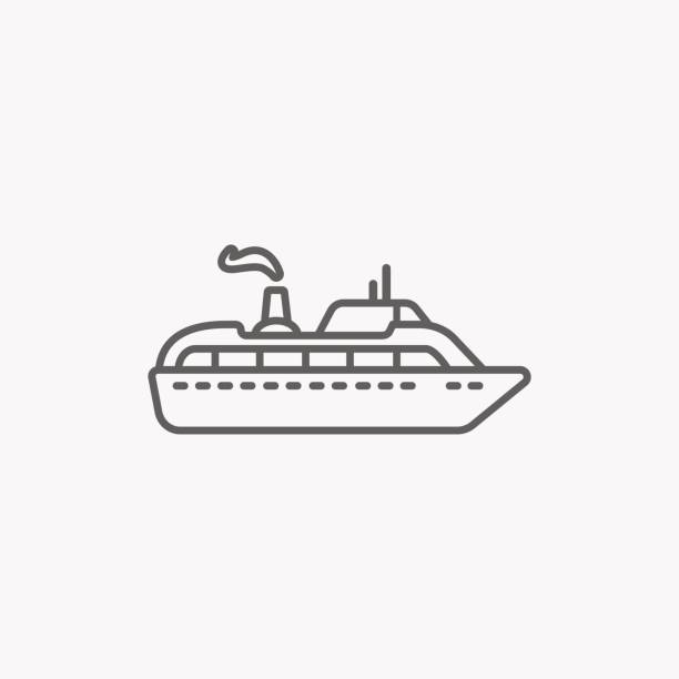 Royalty Free Paddle Boat Clip Art, Vector Images
