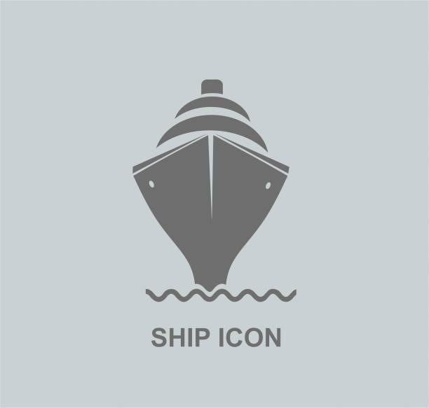 illustrations, cliparts, dessins animés et icônes de icône de vaisseau - voilier à moteur