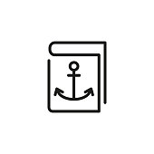 Ship log line icon
