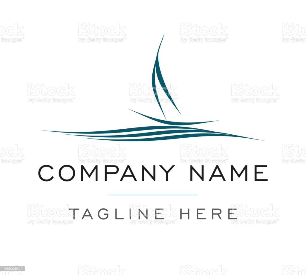 ship symbol sailing boat vector template stock vector art more