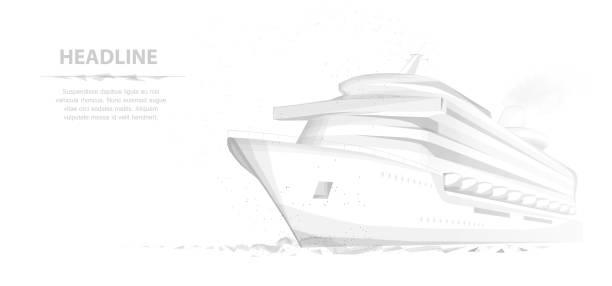 Ship. vector art illustration
