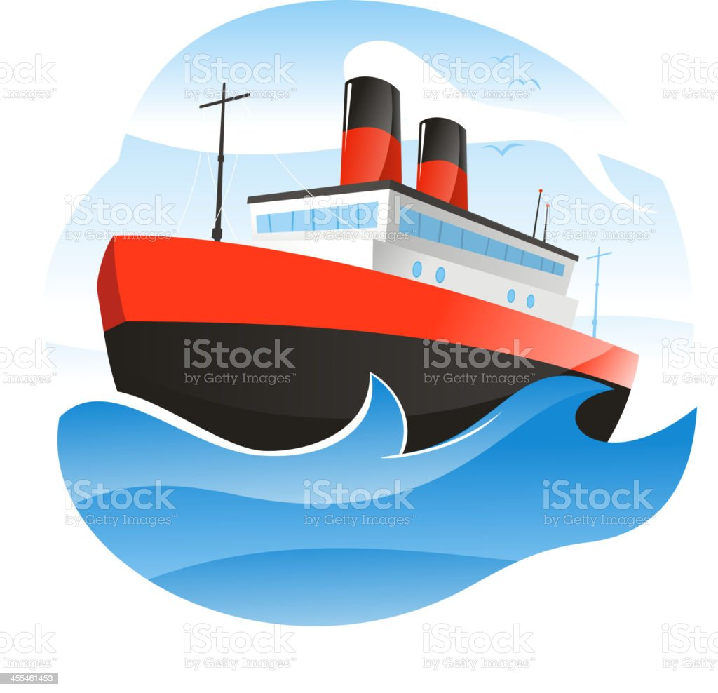 Ship royalty-free stock vector art