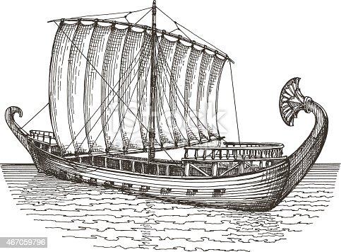 Ship Vector Logo Design Template Boat Or Transport Icon Stock Vector ...