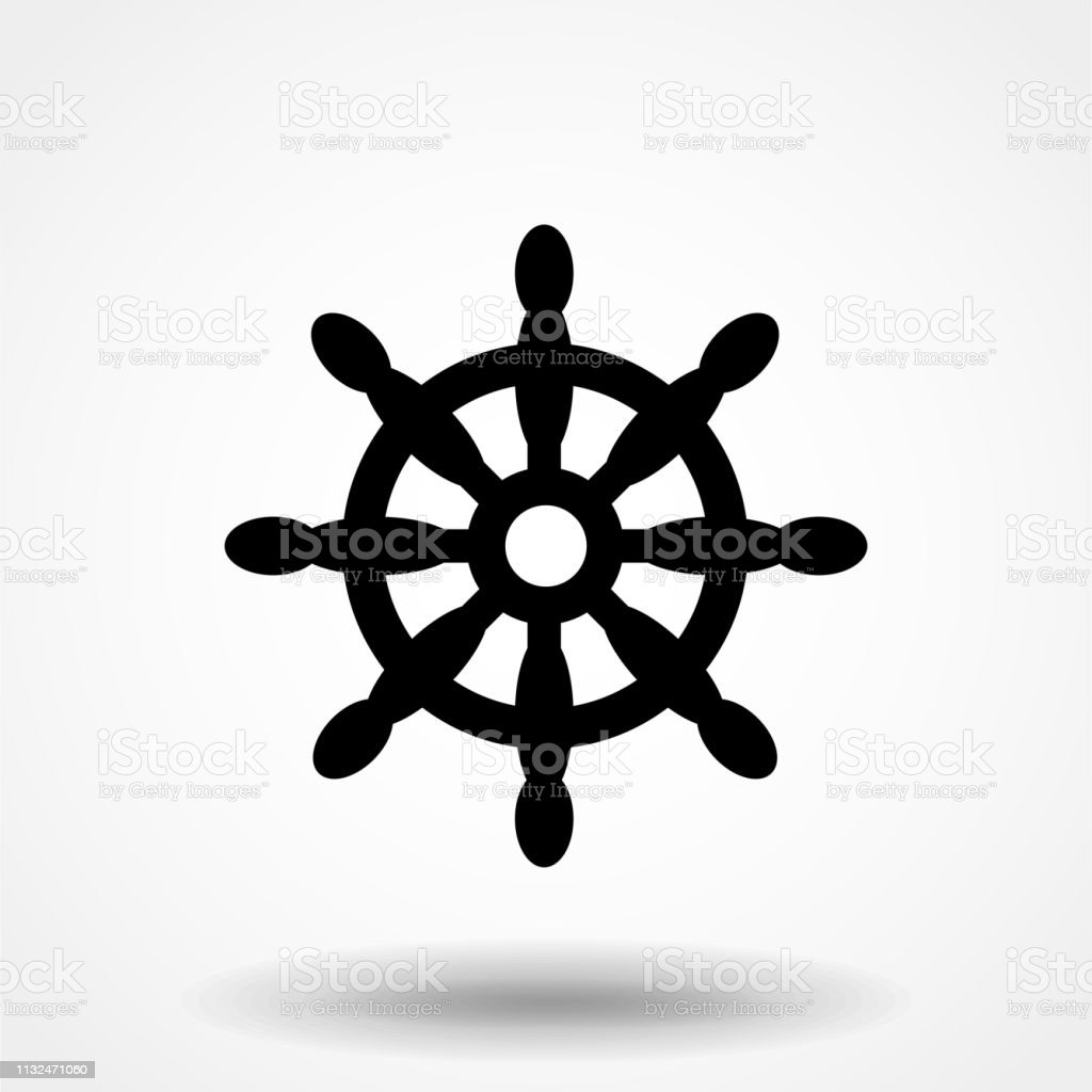 ship wheel vector icon ships steering wheel simple design stock illustration download image now istock ship wheel vector icon ships steering wheel simple design stock illustration download image now istock