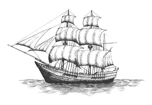 Shipping company logo.