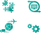 Shipping Software Icons
