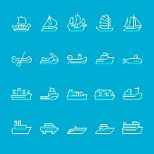 Ships and Nautical Vessel Types