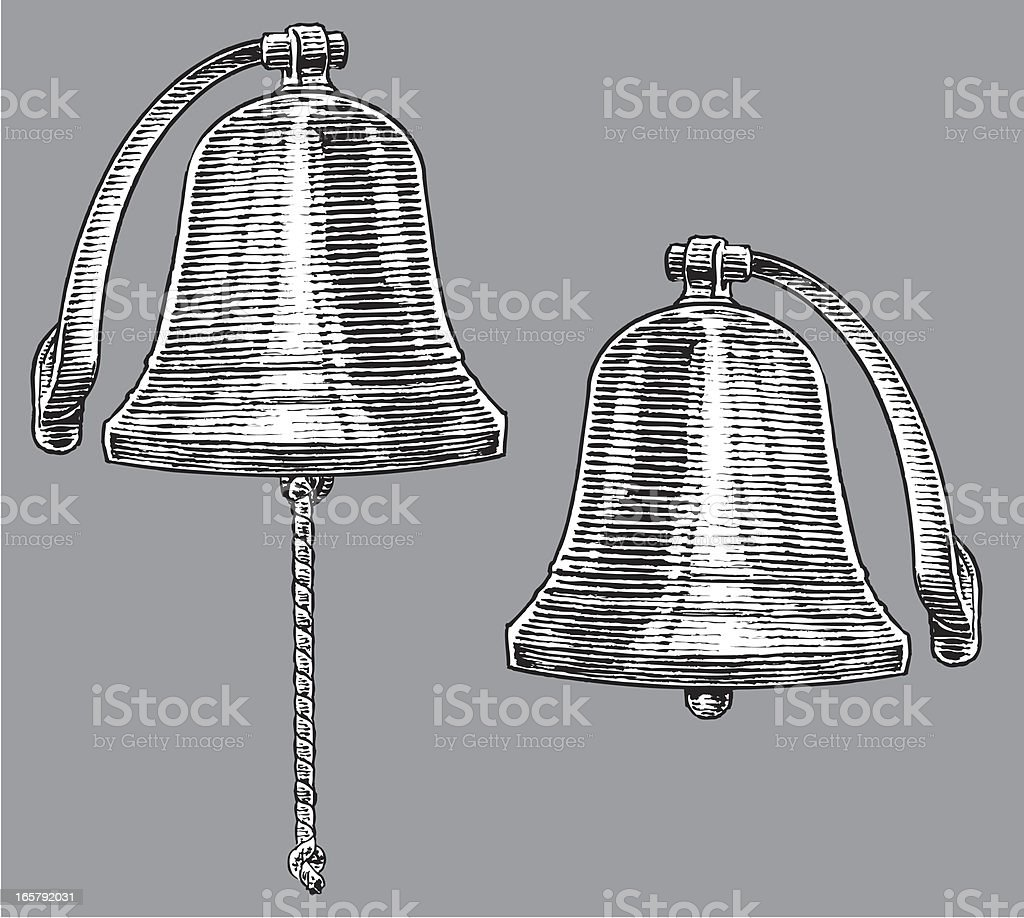 Ship's Bell royalty-free stock vector art