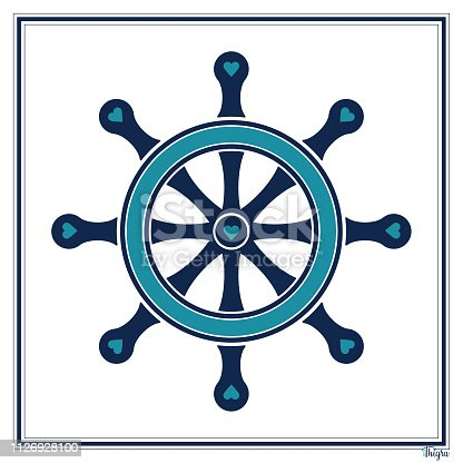 istock Ship's Wheel 1126928100