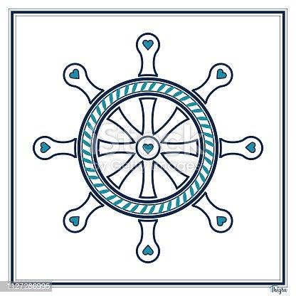 istock Ship's Wheel 1127286995