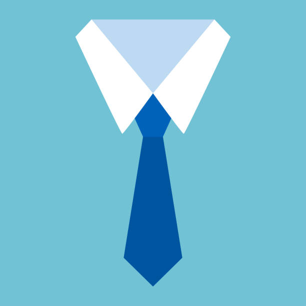 Shirt and tie icon. Formal suit office. Vector illustration Shirt and tie icon. Formal suit office. Vector illustration collar stock illustrations