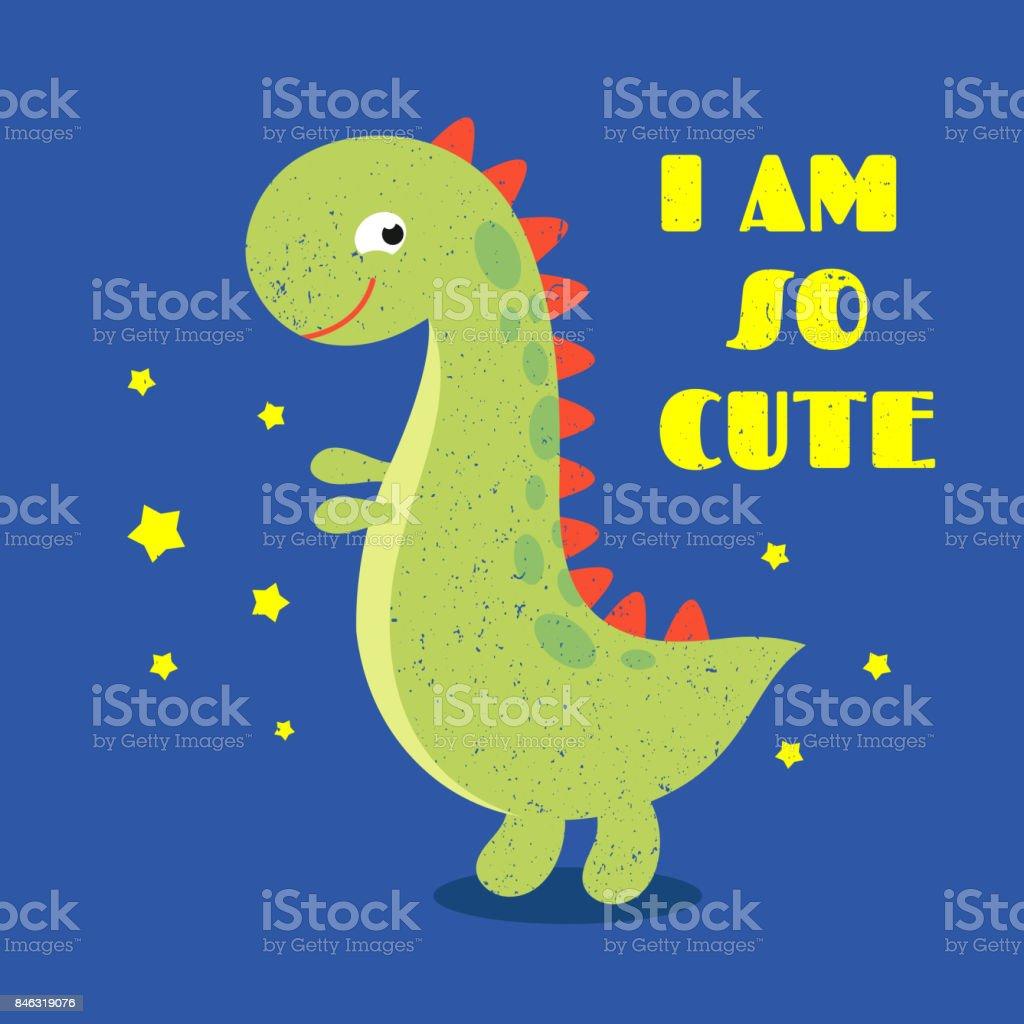 Vetores De T Camisa Criancas Imprimir Etiqueta Com Dinossauro