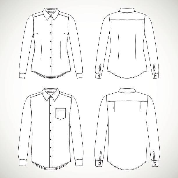 셔츠 - 셔츠 stock illustrations