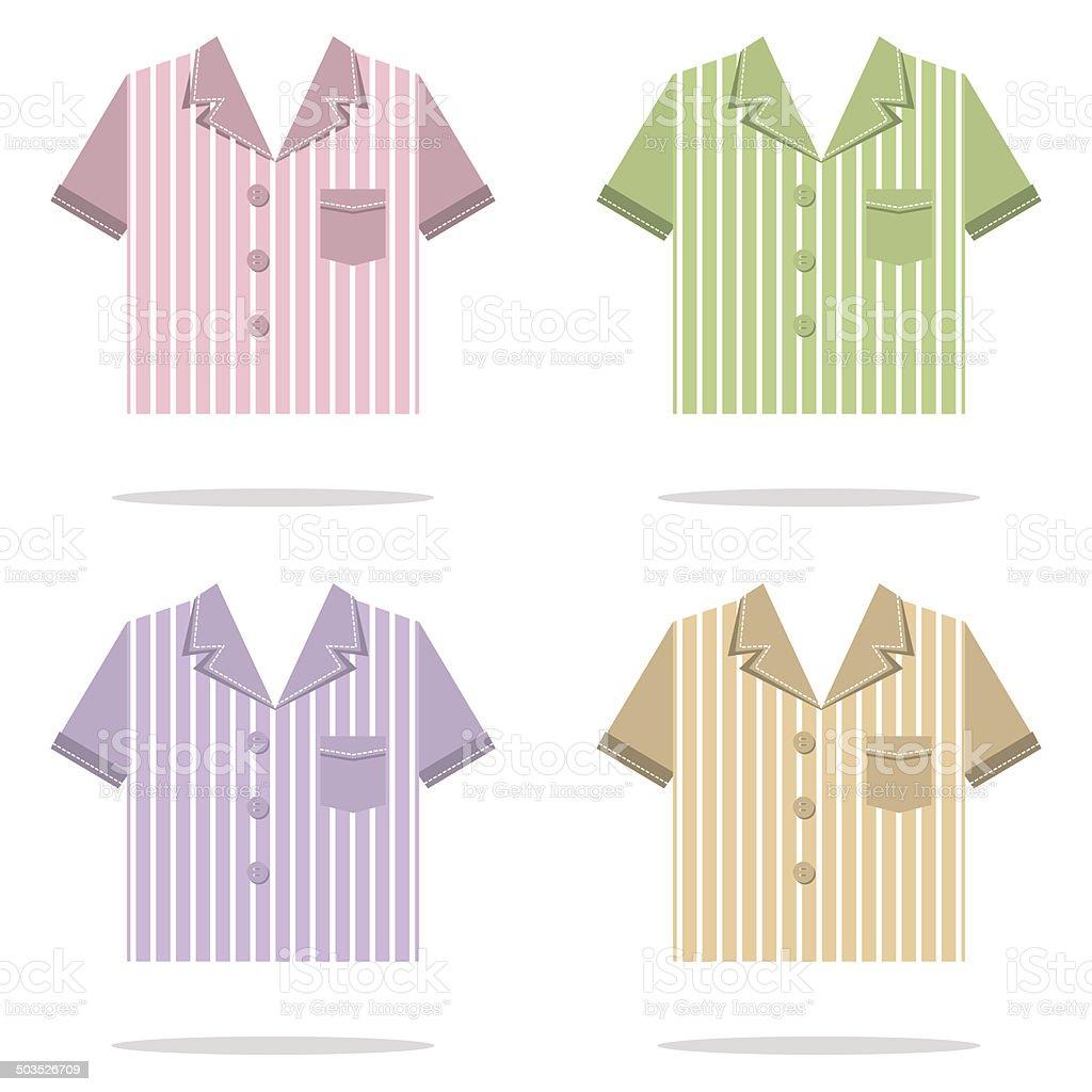 Shirts For Men Vector Illustration vector art illustration