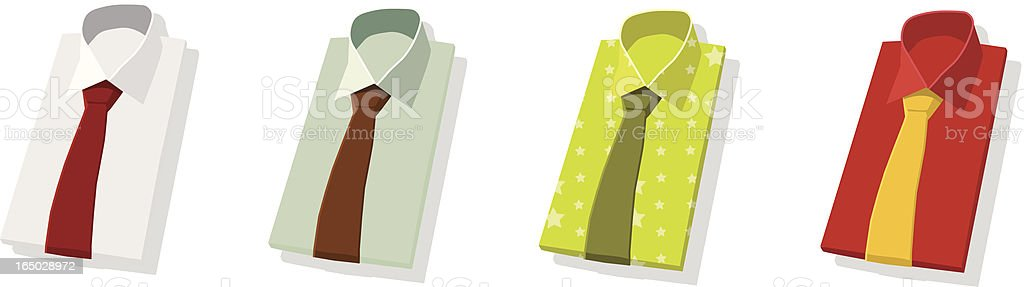 shirts royalty-free stock vector art
