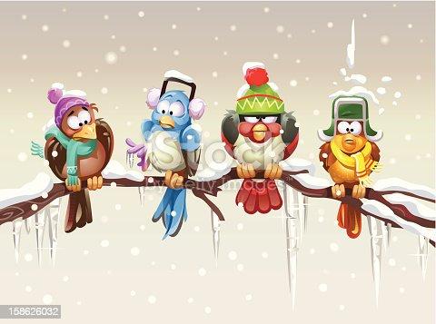 Shivering Birds