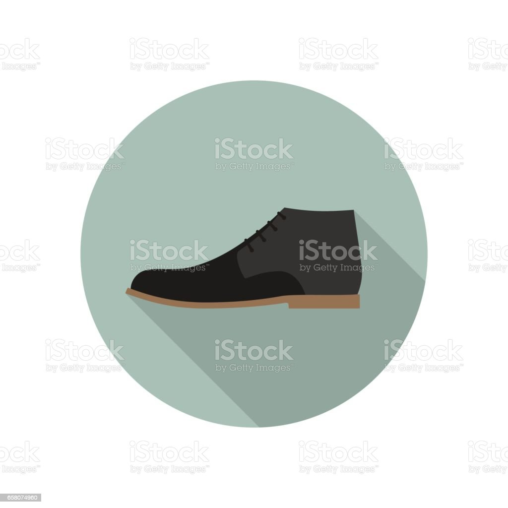 Shoe flat icon royalty-free shoe flat icon stock vector art & more images of adult